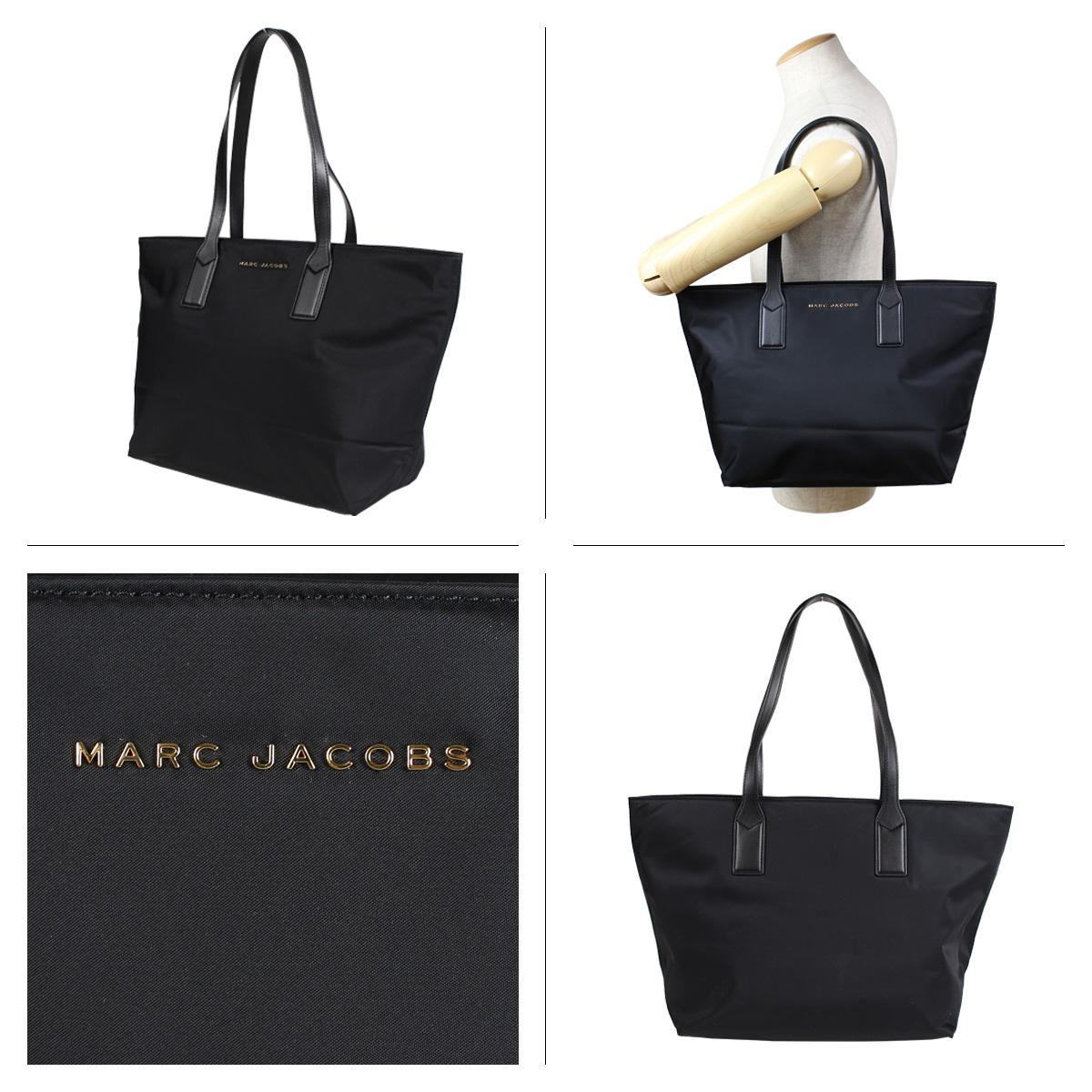fd3fe5ec4315 MARC JACOBS NYLON WINGMAN TOTE BAG mark Jacobs bag tote bag Lady s black  M0013561  1 8 Shinnyu load   1901
