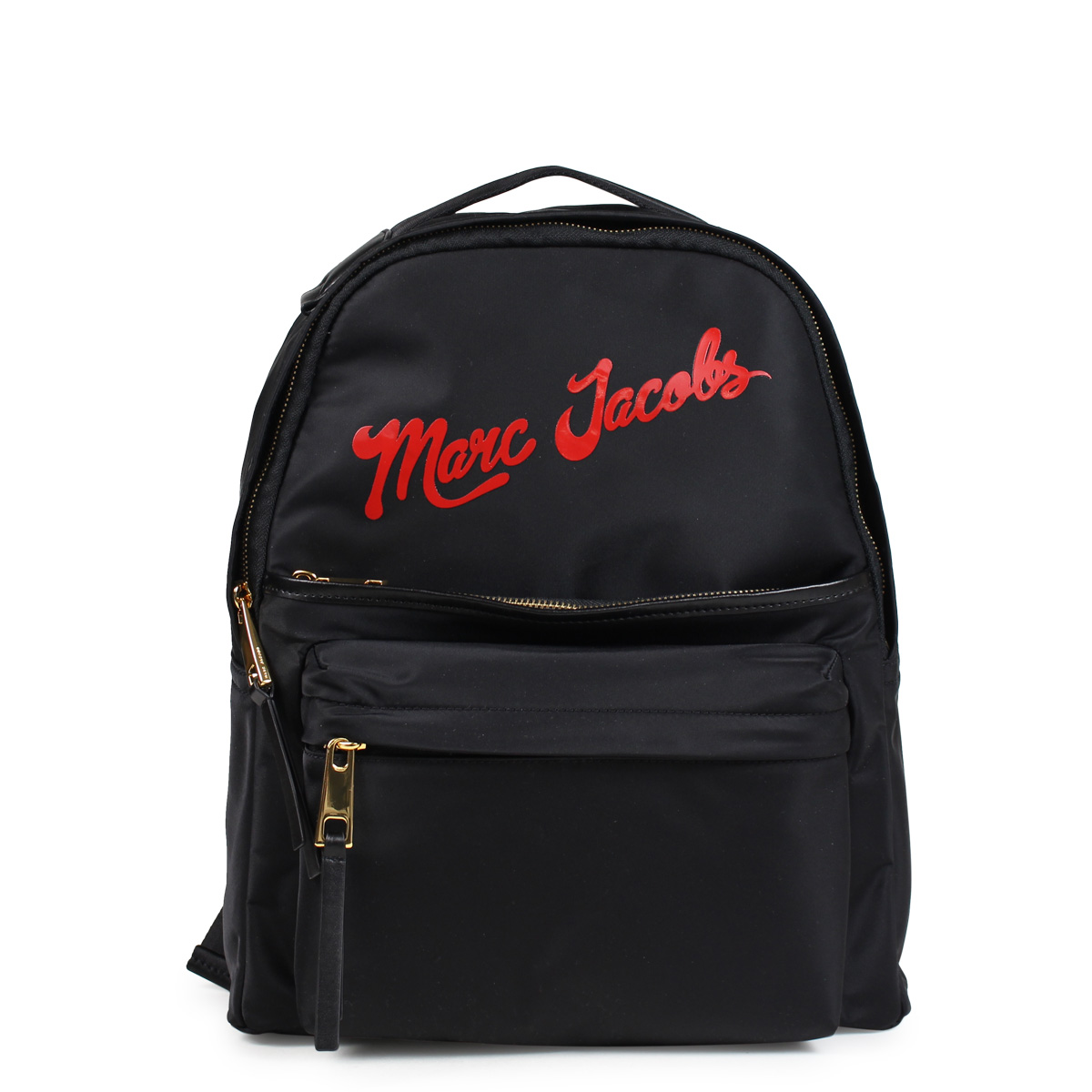 MARC JACOBS NYLON LARGE BACKPACK マークジェイコブス リュック バッグ バックパック レディース ブラック M0014161