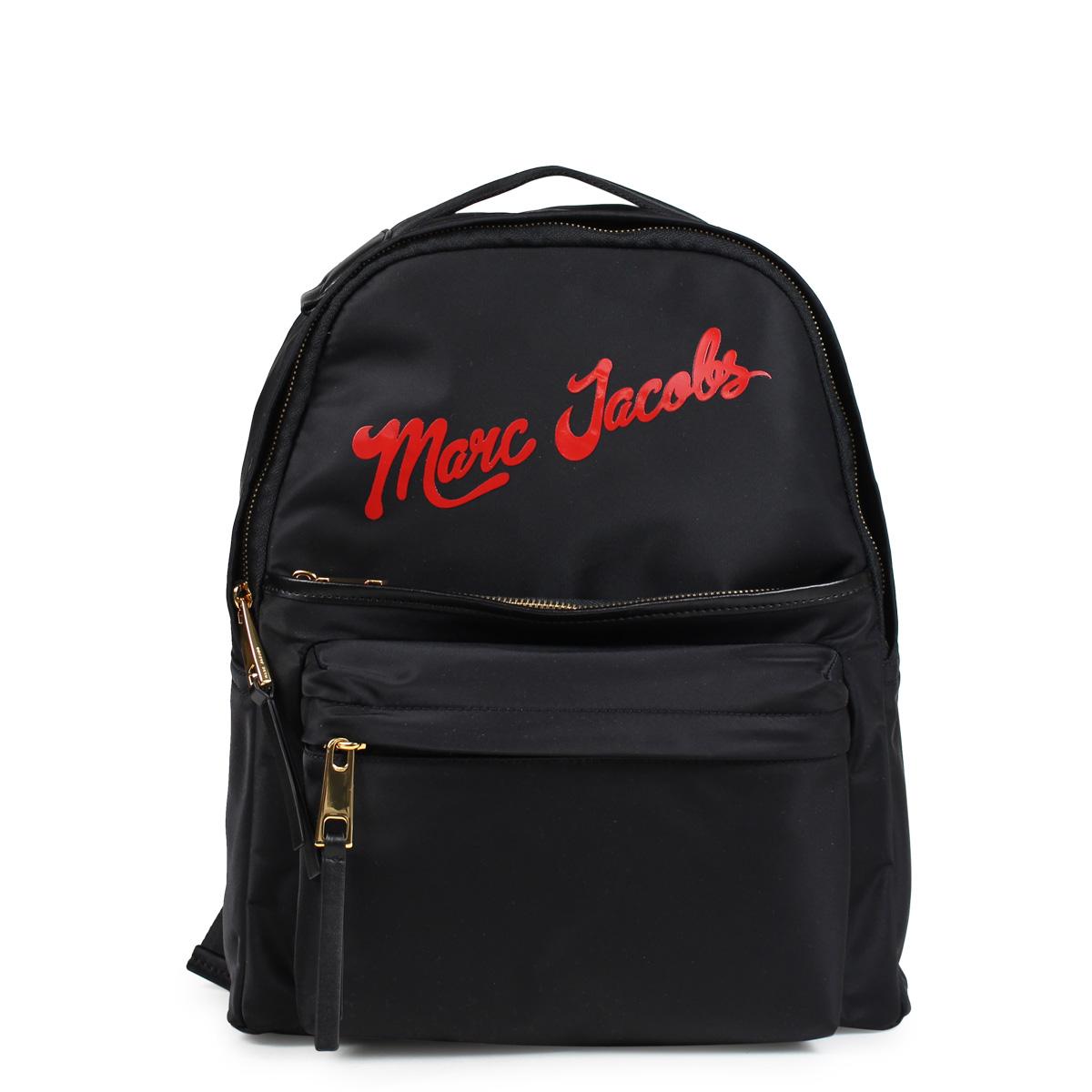 MARC JACOBS NYLON LARGE BACKPACK マークジェイコブス リュック バッグ バックパック レディース ブラック M0014161