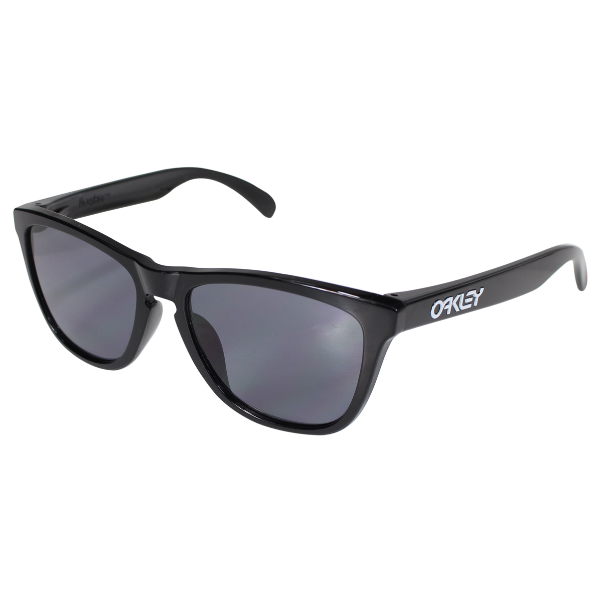9064d79250  SOLD OUT  Oakley Oakley Sunglasses Frogskins Asian Fit frog skin mens  Womens glasses Asian fitting OO9245-01 polished black   grey unisex  10   8  ...