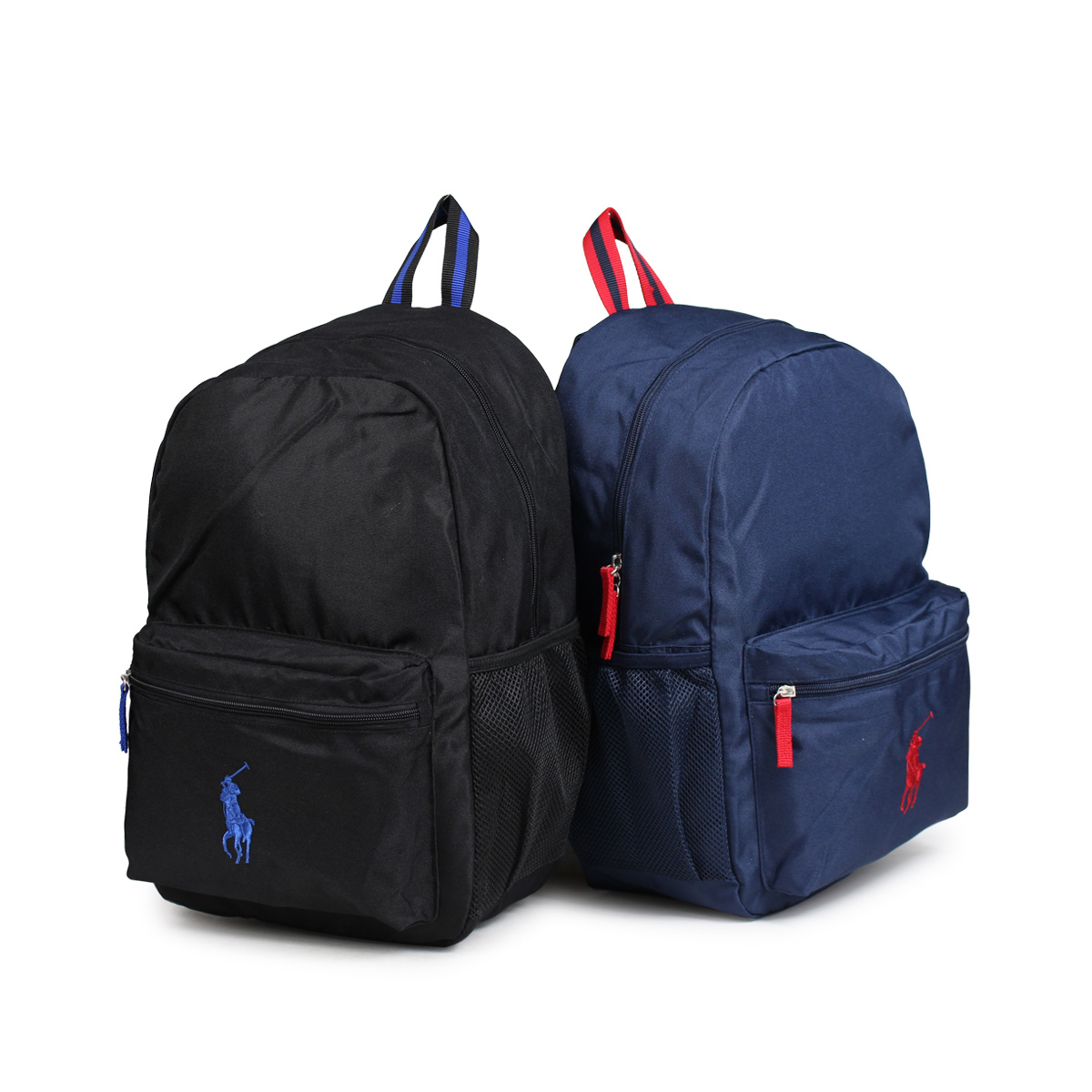 POLO RALPH LAUREN RA10012 polo Ralph Lauren bag rucksack backpack kids  black navy  12 20 Shinnyu load  bd18525eb041f