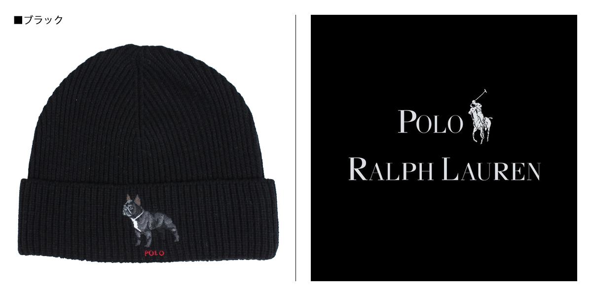 ae2e3cef7d245 POLO RALPH LAUREN BULLDOG KNIT HAT polo Ralph Lauren knit hat knit cap  beanie men gap Dis black PC0197  1 15 Shinnyu load   191