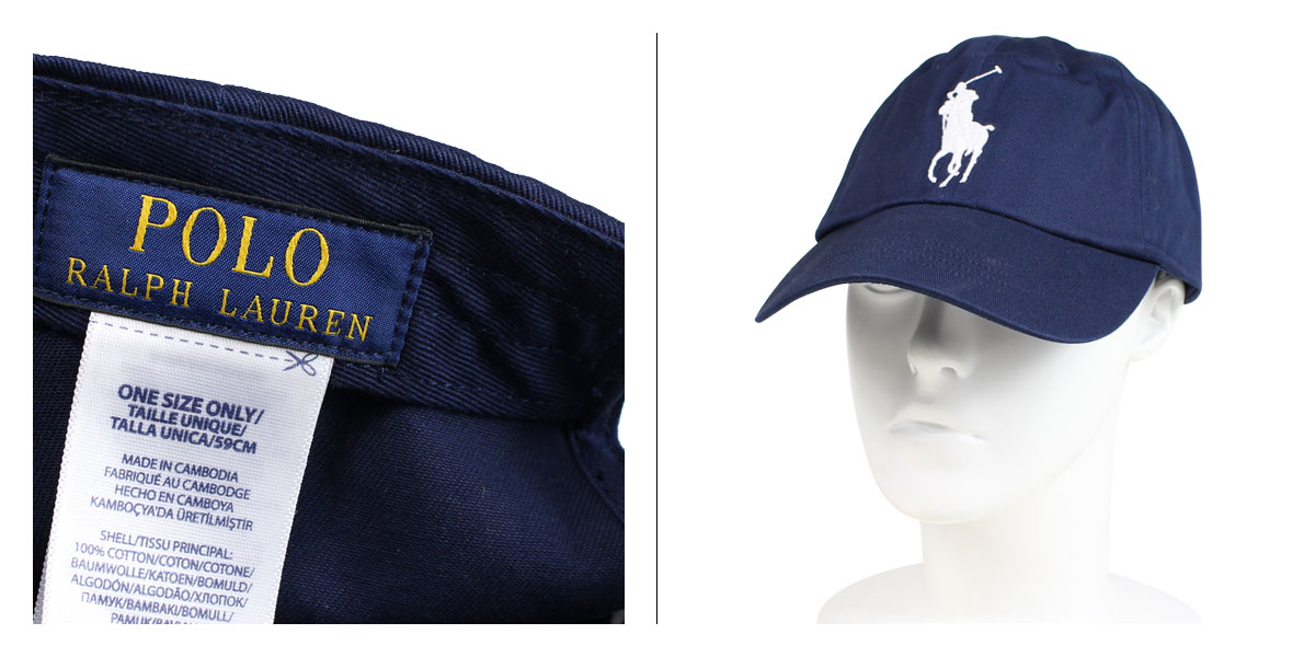c6aaeffb1c390 POLO RALPH LAUREN BIG PONY CHINO BASEBALL CAP polo Ralph Lauren cap hat men  gap Dis cotton navy 710673584013  1 15 Shinnyu load   191