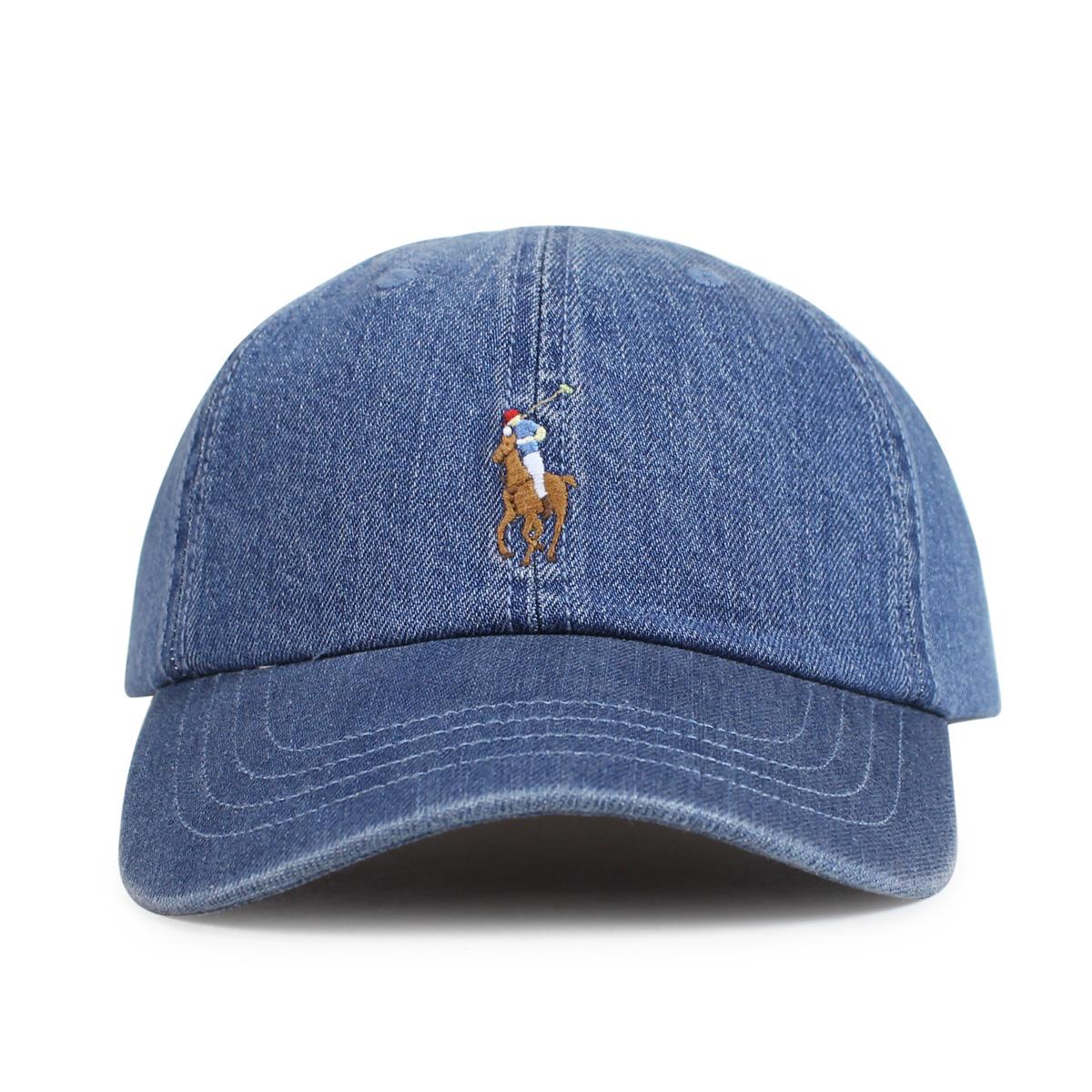 POLO RALPH LAUREN DENIM BASEBALL CAP polo Ralph Lauren cap hat men gap Dis  cotton denim 710674341001  1 15 Shinnyu load   191  89896c0beb9