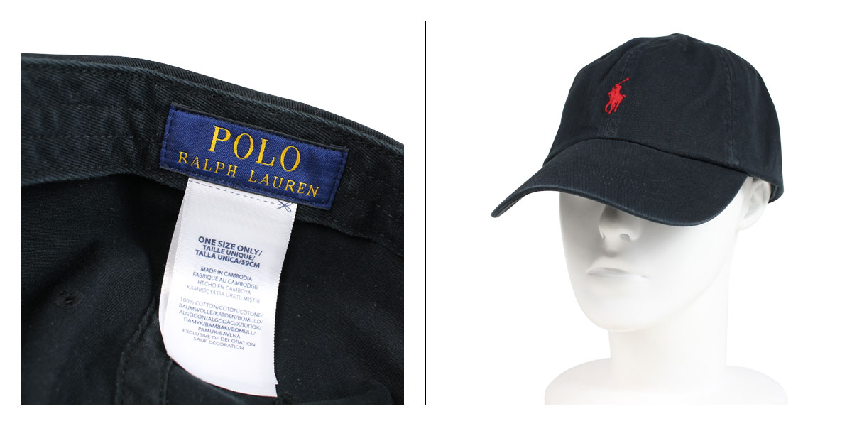 POLO RALPH LAUREN COTTON CHINO BASEBALL CAP polo Ralph Lauren cap hat men  gap Dis cotton black beige red blue 710548524  1 15 Shinnyu load   191  dafc088d31bf