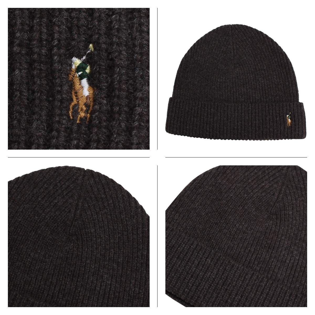 3731342ab9 POLO RALPH LAUREN SIGNATURE MERINO CUFF HAT polo Ralph Lauren knit hat knit  cap beanie men gap Dis merino wool 6F0101 [191]