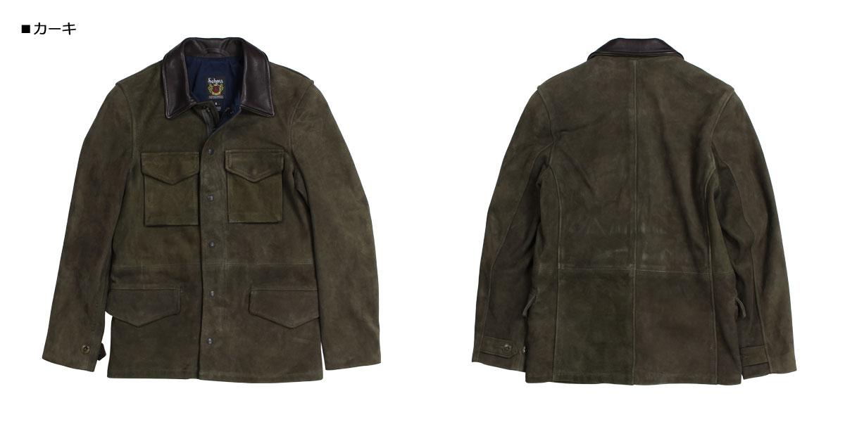 d61ddc0041 Schott MEN S SUEDE M-51 JACKET shot jacket M51 military jacket men olive  258  1901