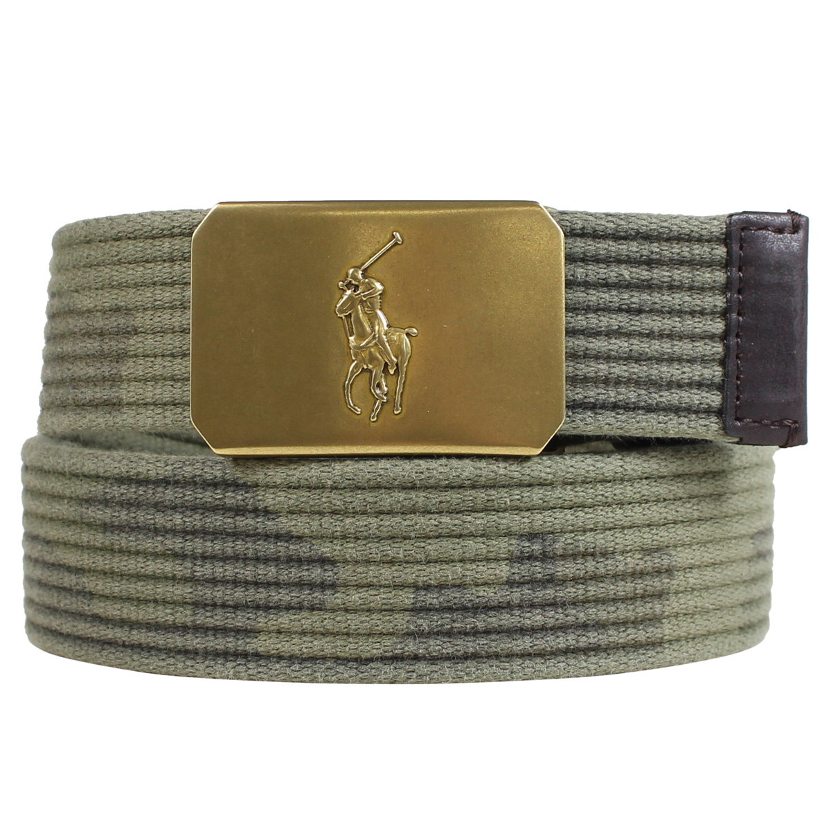 f53343ebcc POLO RALPH LAUREN PLAQUE-BUCKLE COTTON BELT polo Ralph Lauren belt cotton  belt men navy khaki duck [191]