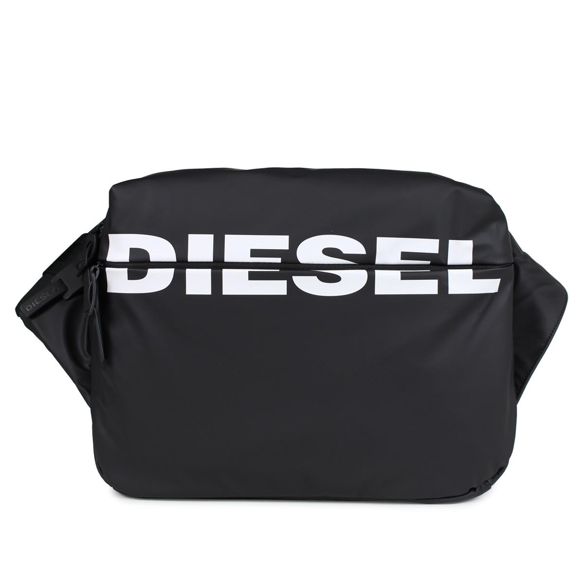 DIESEL F-BOLD CROSS ディーゼル バッグ ボディバッグ メンズ ブラック 黒 X05476 P1705