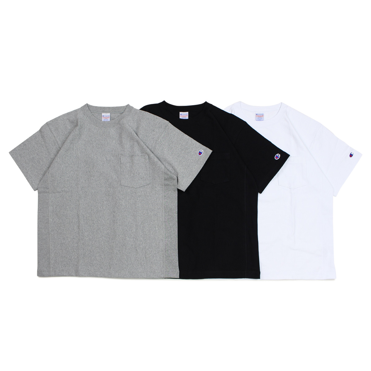6f729272 Champion REVERSE WEAVE POCKET T-SHIRT champion T-shirt short sleeves reverse  Wiebe men ...