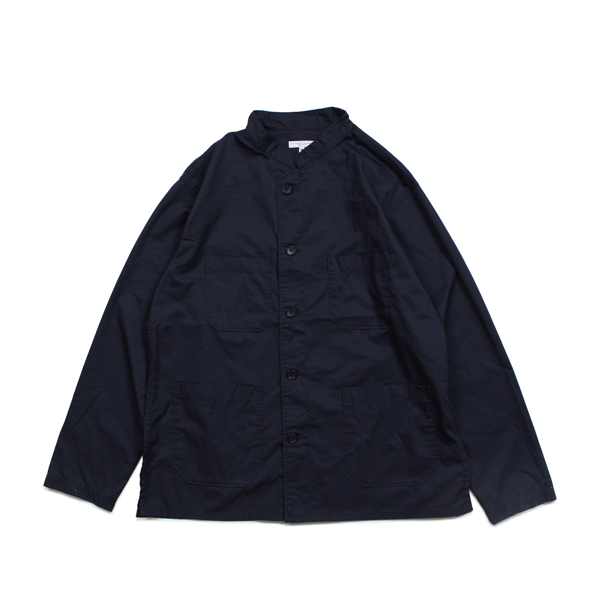 ENGINEERED GARMENTS DAYTON SHIRT エンジニアドガーメンツ シャツ 長袖 バンドカラーシャツ メンズ ダーク ネイビー カーキ ライト ブルー 19SA009