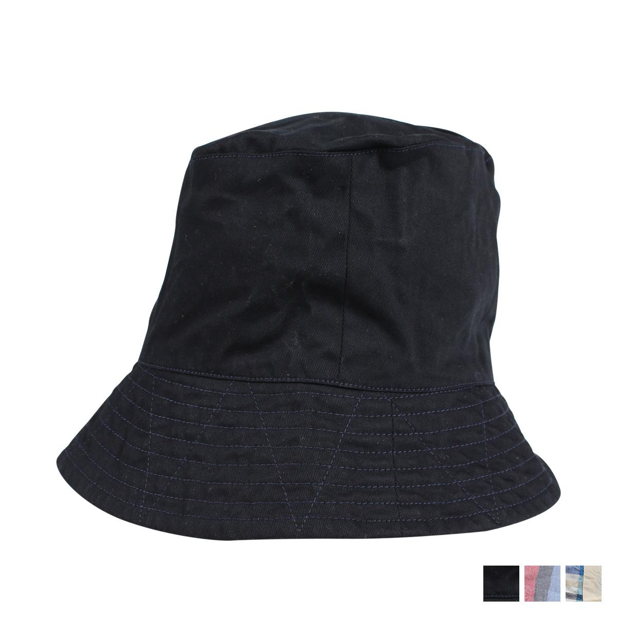 ENGINEERED GARMENTS BUCKET HAT エンジニアドガーメンツ ハット 帽子 バケットハット メンズ ブラック ネイビー カーキ 黒 19SH003A