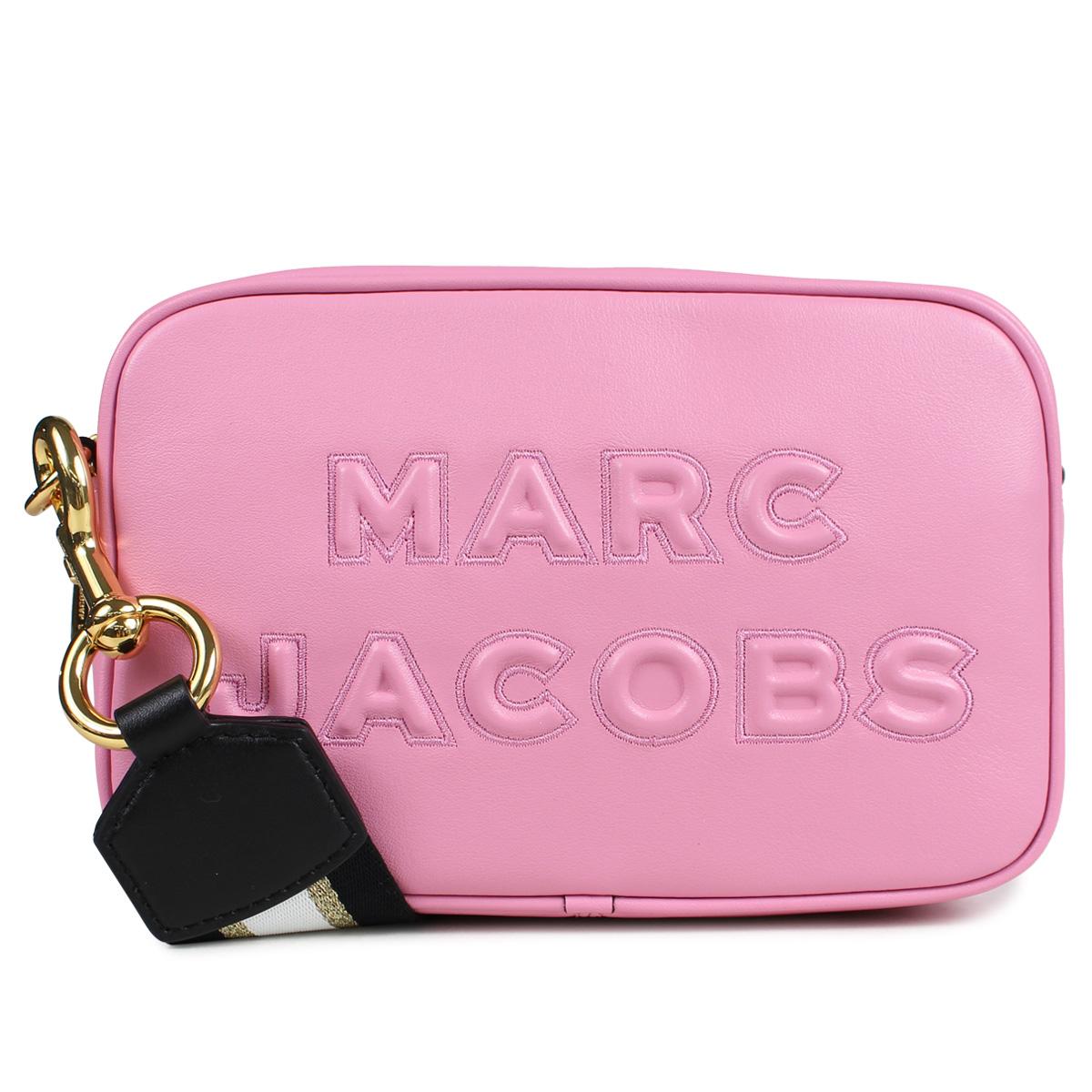 MARC JACOBS FLASH LEATHER CROSS BODY マークジェイコブス バッグ ショルダーバッグ レディース ピンク M0014465 660
