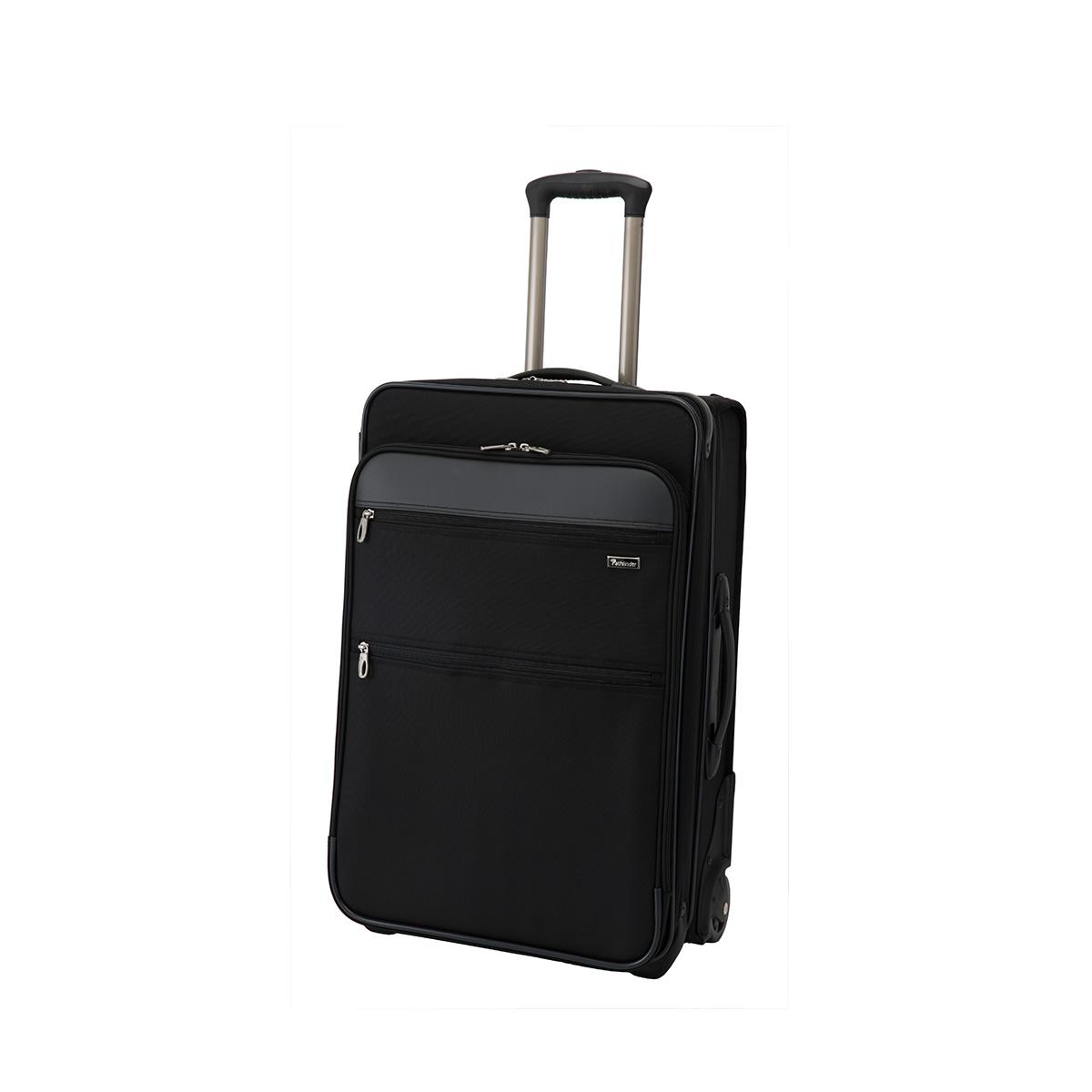 Pathfinder REVOLUTION XT パスファインダー バッグ キャリーケース キャリーバッグ スーツケース 50L-72L メンズ 機内持ち込み ソフト 拡張 ブラック 黒 PF6824DAXB