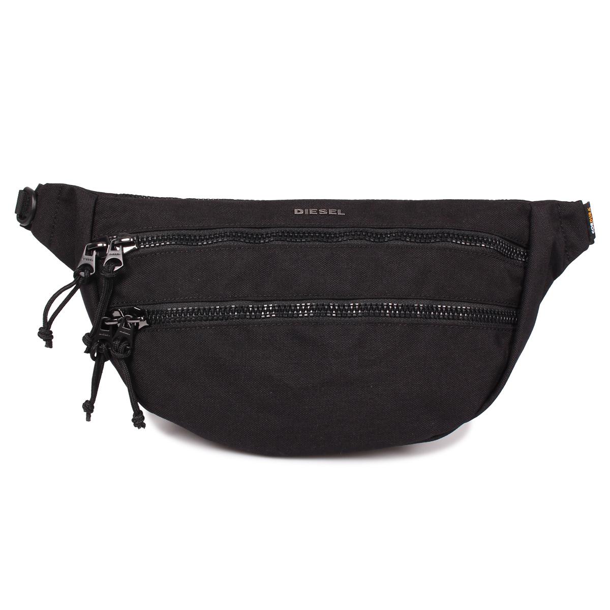 DIESEL F-URBHANITY BUMBAG ディーゼル バッグ ボディバッグ ウエストバッグ ショルダーバッグ メンズ ブラック 黒 X05120 P1516
