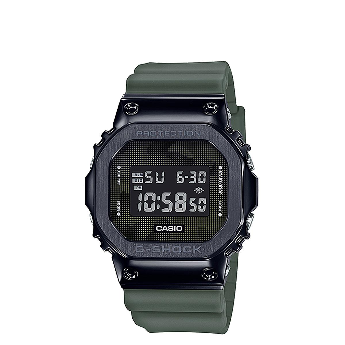 CASIO G-SHOCK カシオ 腕時計 GM-5600B-3JF ジーショック Gショック G-ショック メンズ レディース メタル ブラック 黒:ALLSPORTS
