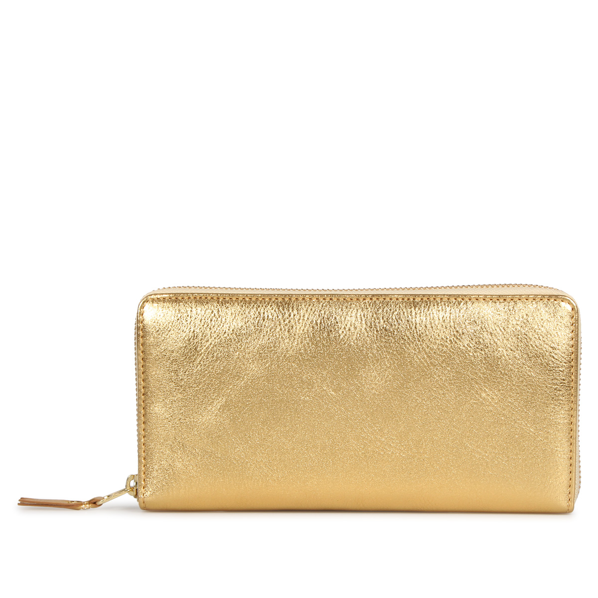 COMME des GARCONS GOLD AND SILVER WALLET コムデギャルソン 財布 長財布 メンズ レディース ラウンドファスナー 本革 ゴールド SA0110G [予約 9/9 追加入荷予定]