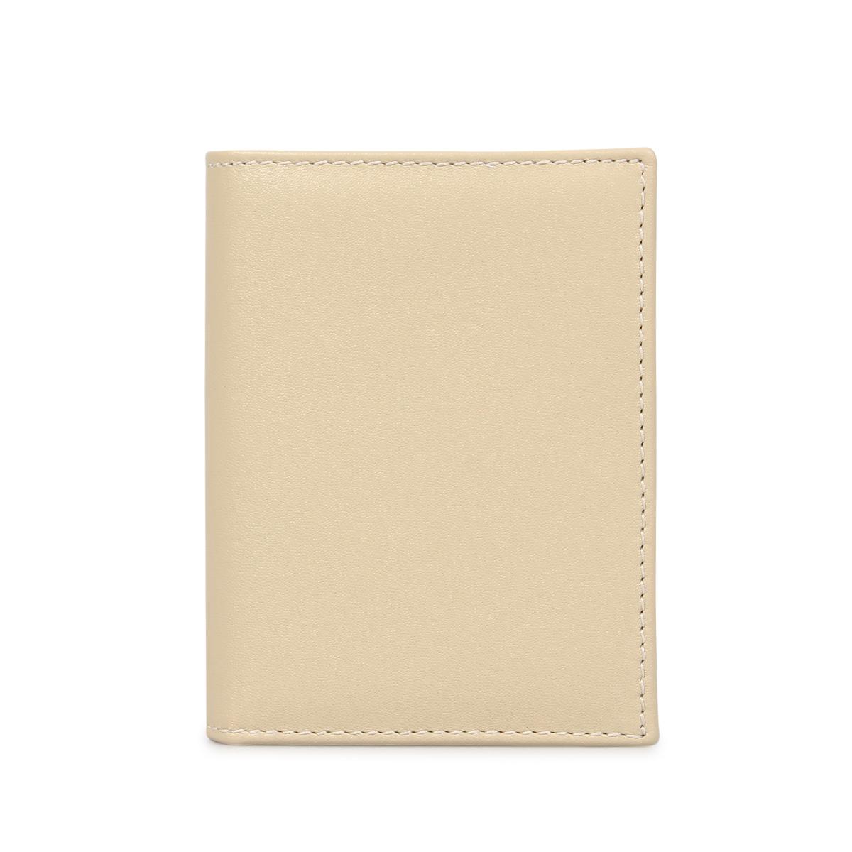 COMME des GARCONS CLASSIC WALLET コムデギャルソン 財布 二つ折り メンズ レディース 本革 オフ ホワイト SA0641