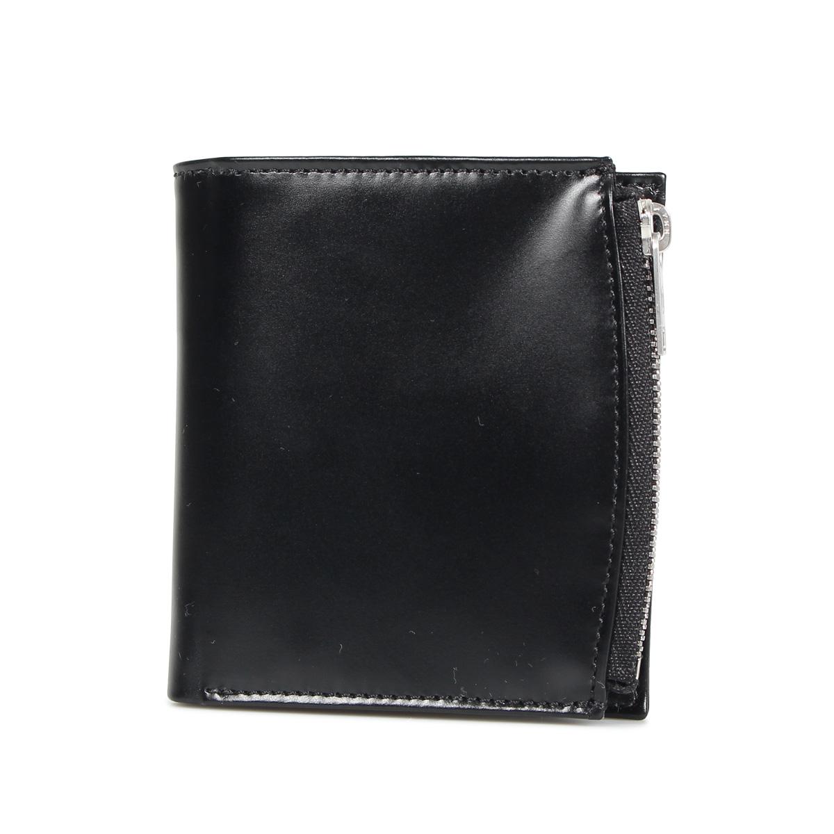 MAISON MARGIELA BI-FOLD WALLET メゾンマルジェラ 財布 二つ折り メンズ レディース ブラック ネイビー ベージュ ブラウン 黒 S35UI0438