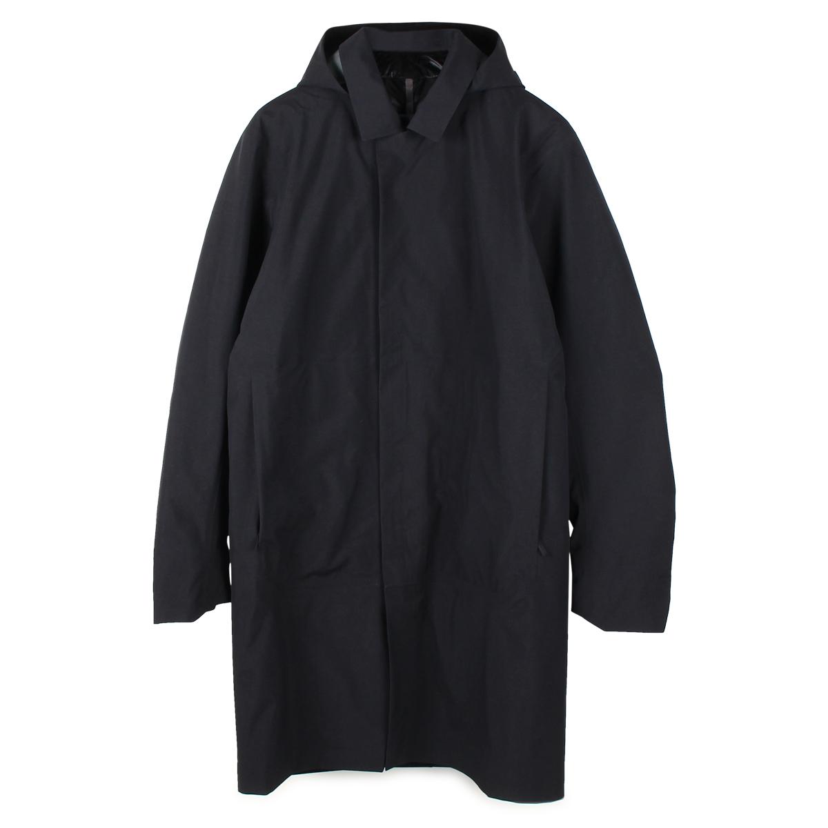 ARCTERYX VEILANCE GALVANIC DOWN COAT アークテリクス ヴェイランス コート ダウンコート ロング メンズ ブラック 黒 18181