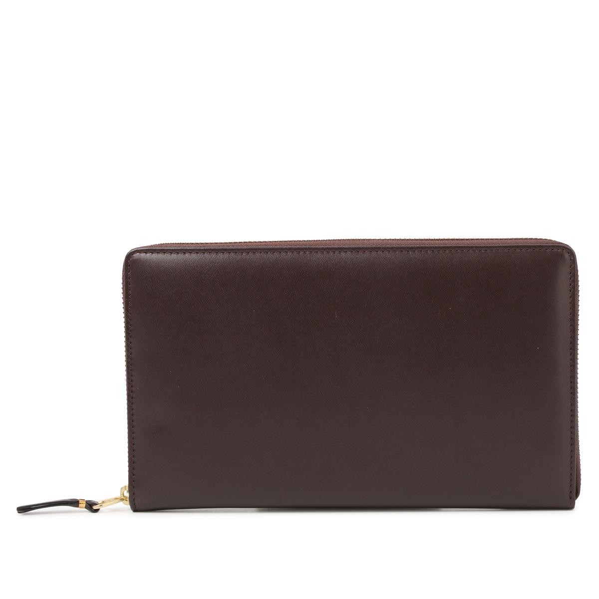 COMME des GARCONS NEW CLASSIC コムデギャルソン 財布 長財布 メンズ レディース ラウンドファスナー ブラック ブラウン 黒 SA0200