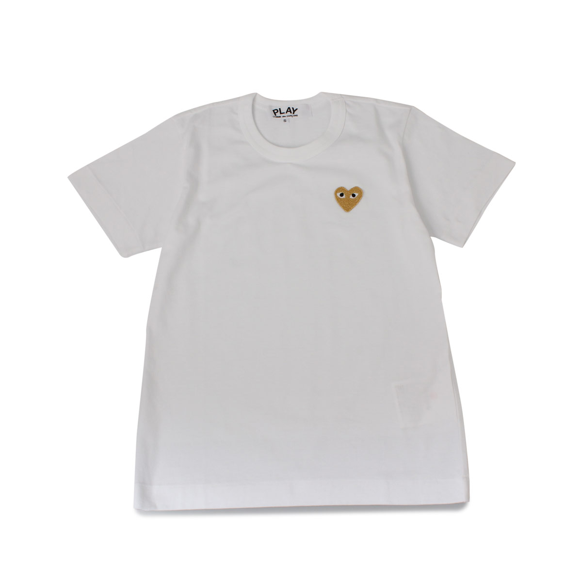 PLAY COMME des GARCONS BASIC LOGO TEE プレイ コムデギャルソン Tシャツ 半袖 レディース ホワイト 白 T2150514