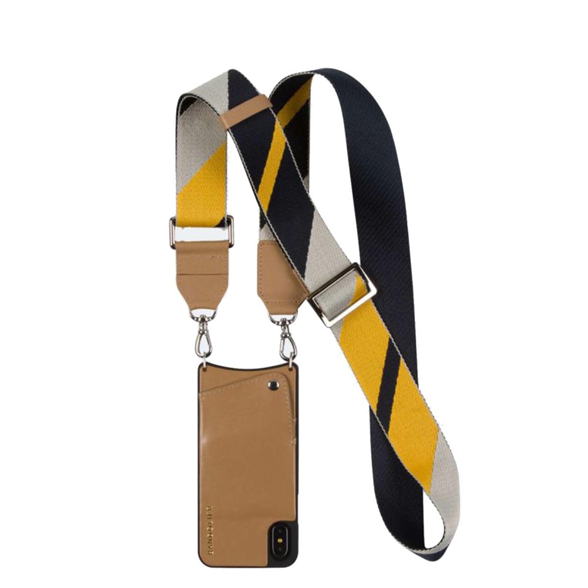 BANDOLIER iPhone SE SE2 8 7 6s 6 ケース スマホ 携帯 アイフォン レディース BELLA TAN NAVY キャメル 10bel