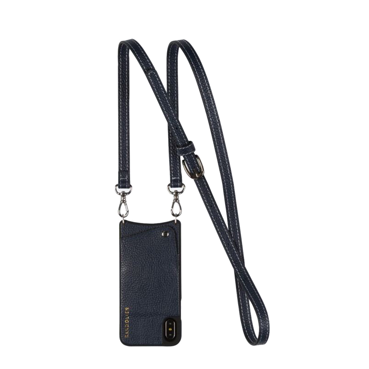 BANDOLIER CASEY NAVY バンドリヤー iPhone XR ケース スマホ 携帯 レディース ネイビー 10cas