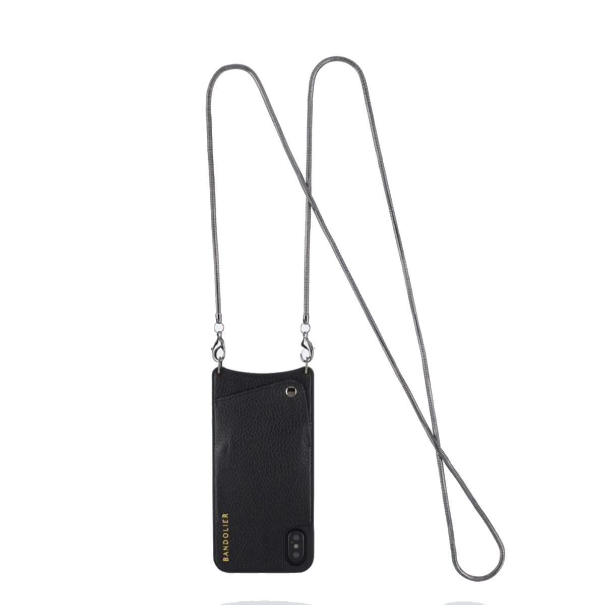 BANDOLIER BELINDA PEWTER バンドリヤー iPhone XS MAX ケース スマホ 携帯 レディース ブラック 黒 2003