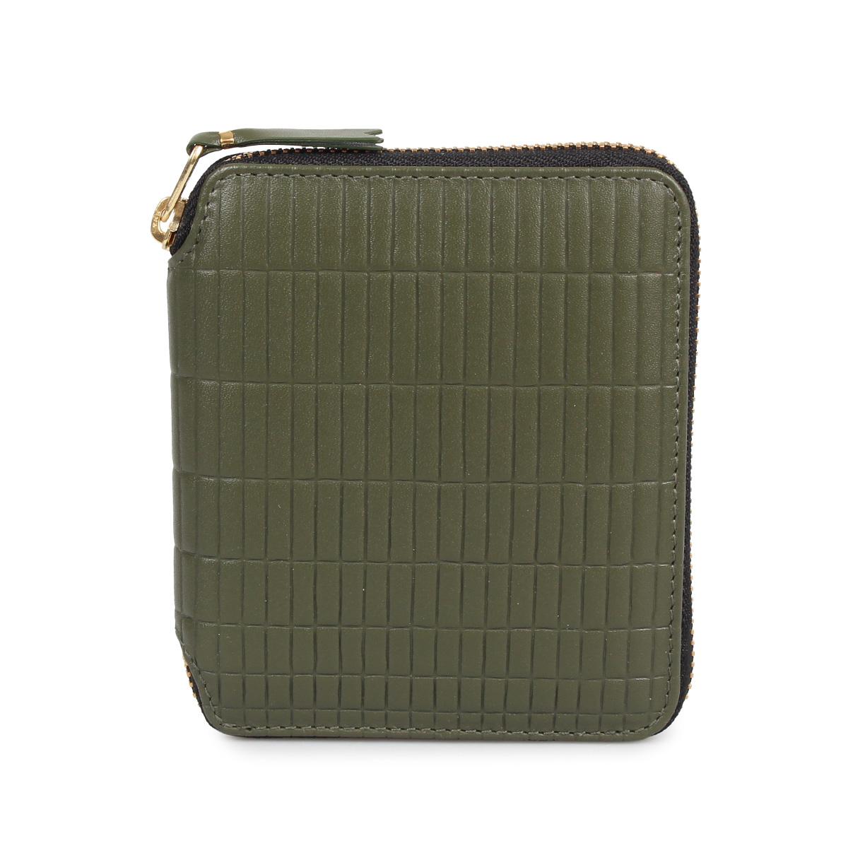 COMME des GARCONS BRICK WALLET コムデギャルソン 財布 二つ折り メンズ レディース カーキ SA2100BK
