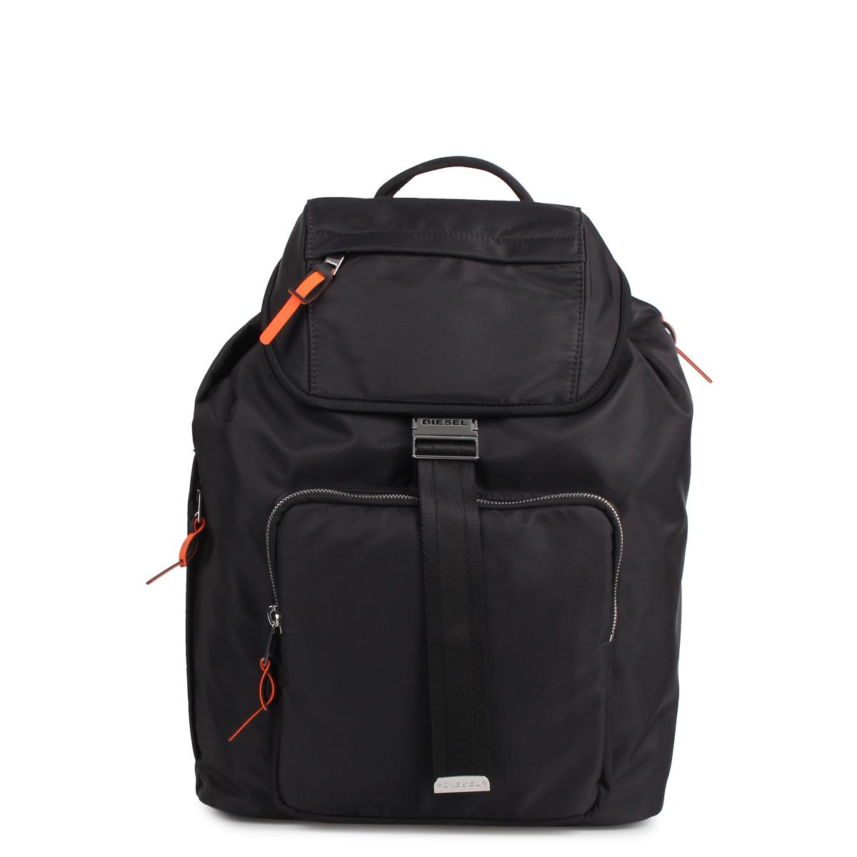 DIESEL ADANY RIESE ディーゼル アンディ リュック バッグ バックパック メンズ ブラック ネイビー 黒 X06476-PR027