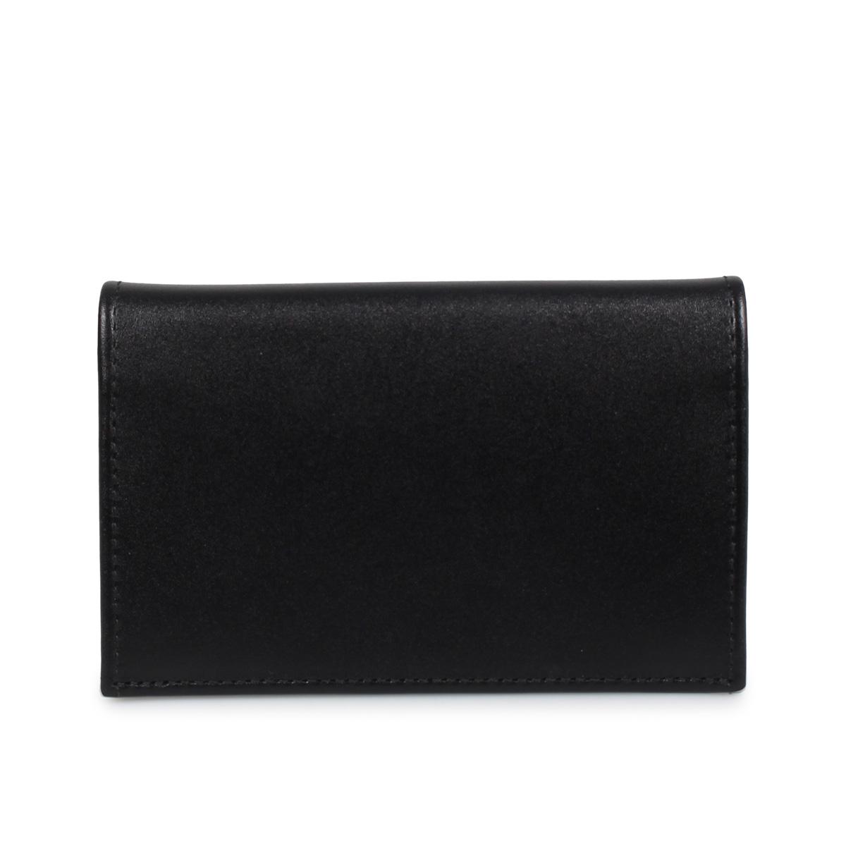 ETTINGER VISITING CARD CASE エッティンガー カードケース 名刺入れ 定期入れ メンズ 本革 ブラック 黒 ST143JR