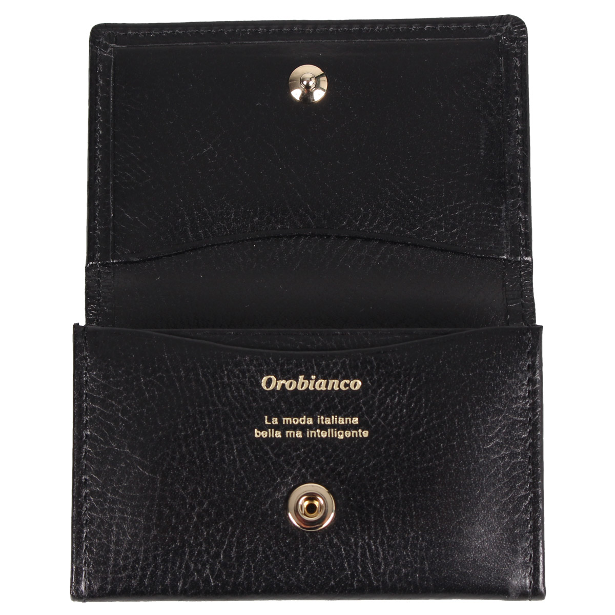 Orobianco COIN CASE オロビアンコ 財布 小銭入れ コインケース メンズ 本革 ブラック 黒 ORS 030653jL4AR