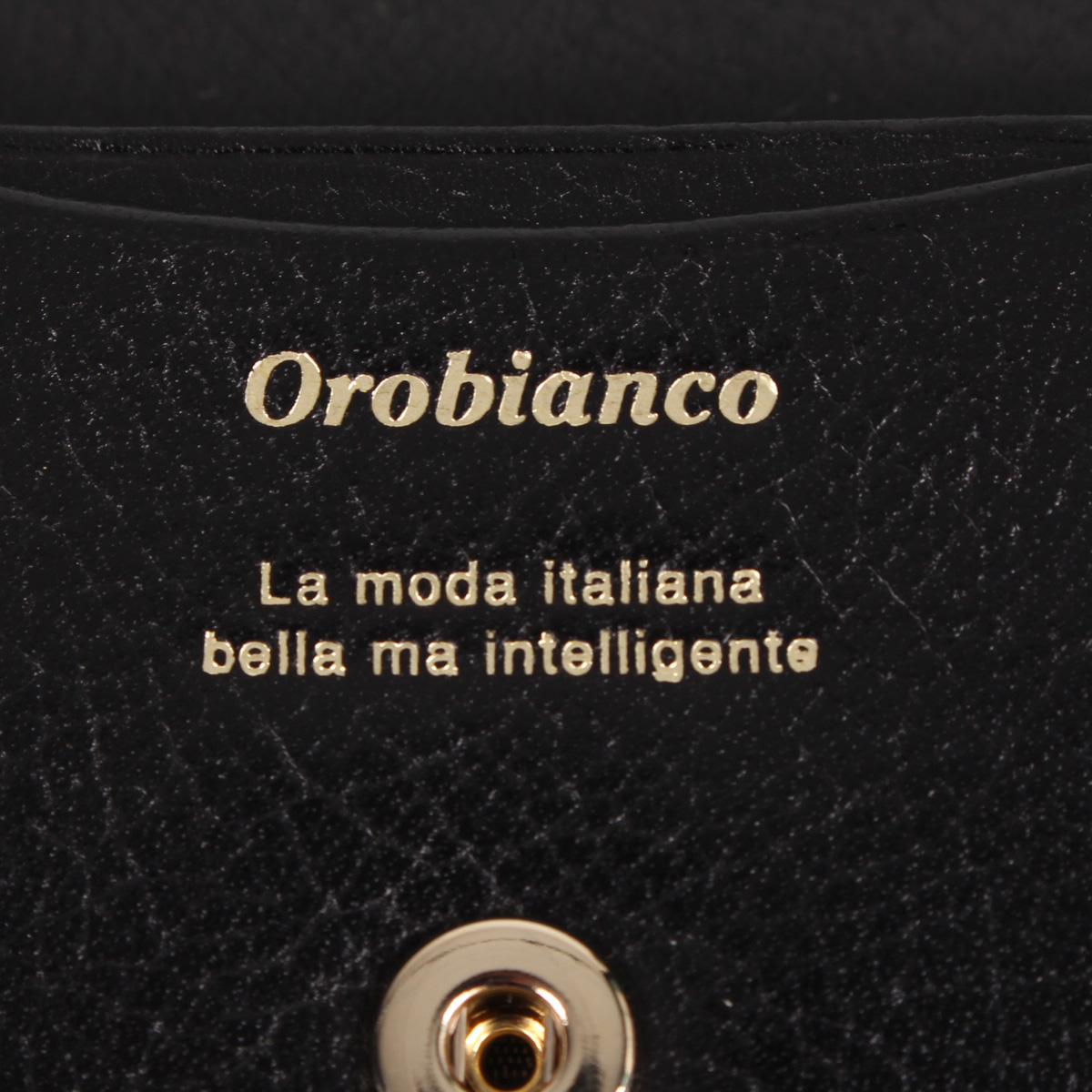 Orobianco COIN CASE オロビアンコ 財布 小銭入れ コインケース メンズ 本革 ブラック 黒 ORS 0306HEWD29I