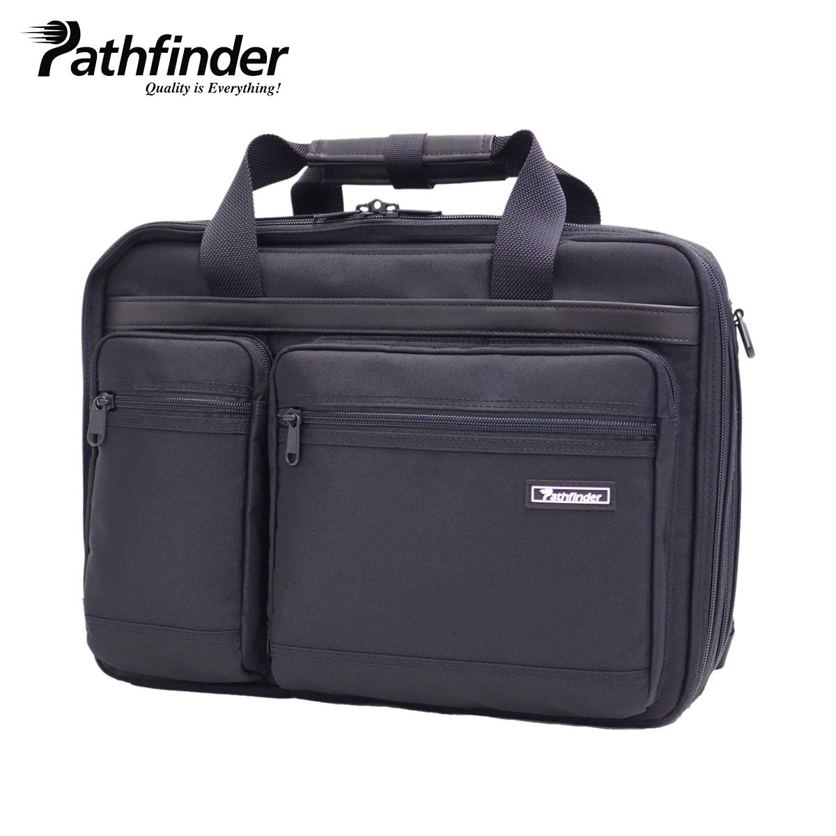 Pathfinder AVENGER 2 3 WAY BAG パスファインダー アベンジャー2 3ウェイ リュック バッグ バックパック ビジネスバッグ ショルダー メンズ ブラック 黒 PF1901B