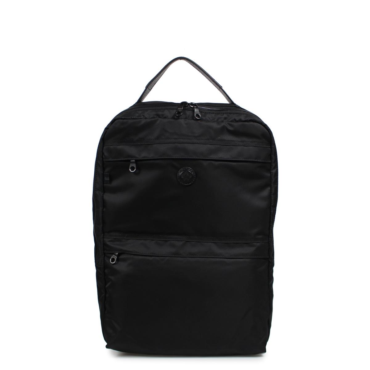 Orobianco PUNTUALE-G ALL BLACK オロビアンコ リュック バッグ バックパック メンズ ブラック 黒 92136