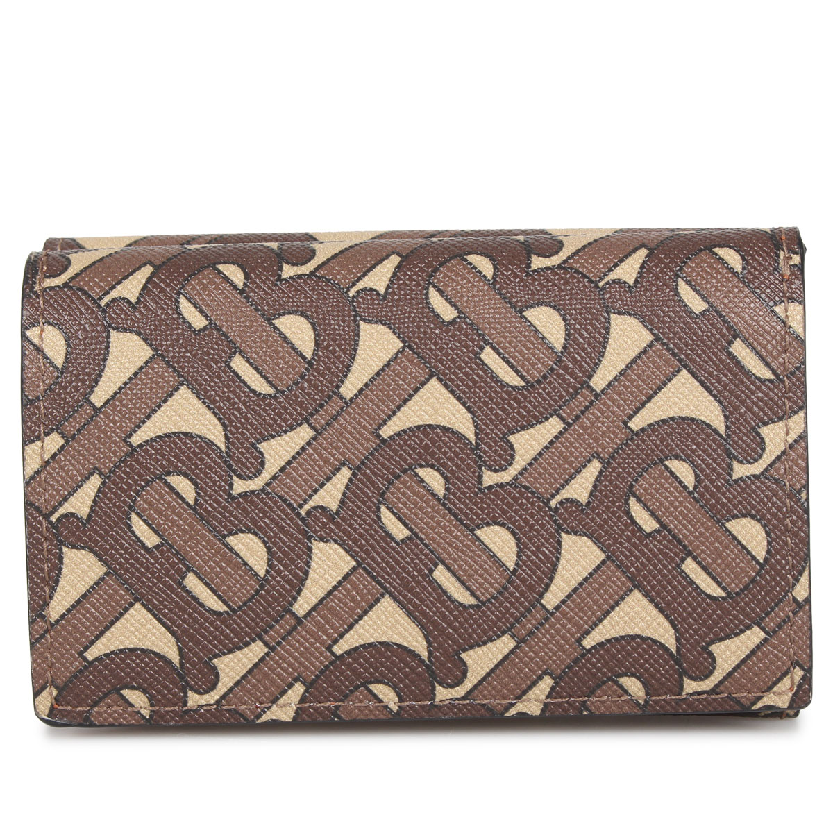 BURBERRY TRI-FOLD WALLET バーバリー 財布 三つ折り メンズ ブラウン 8022945
