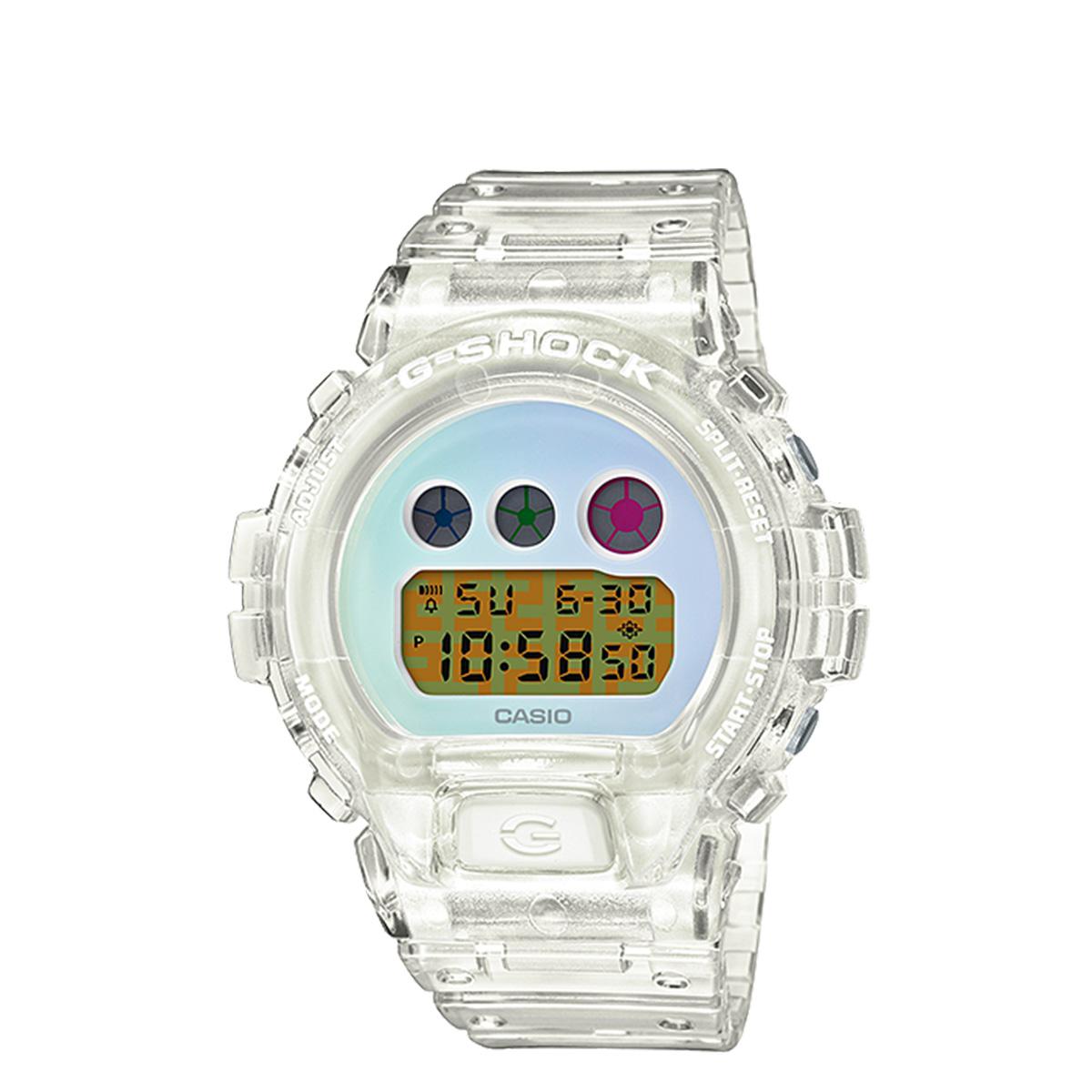 CASIO G-SHOCK カシオ 腕時計 DW-6900SP-7JR 25周年記念 メンズ レディース クリア [3/19 新入荷]