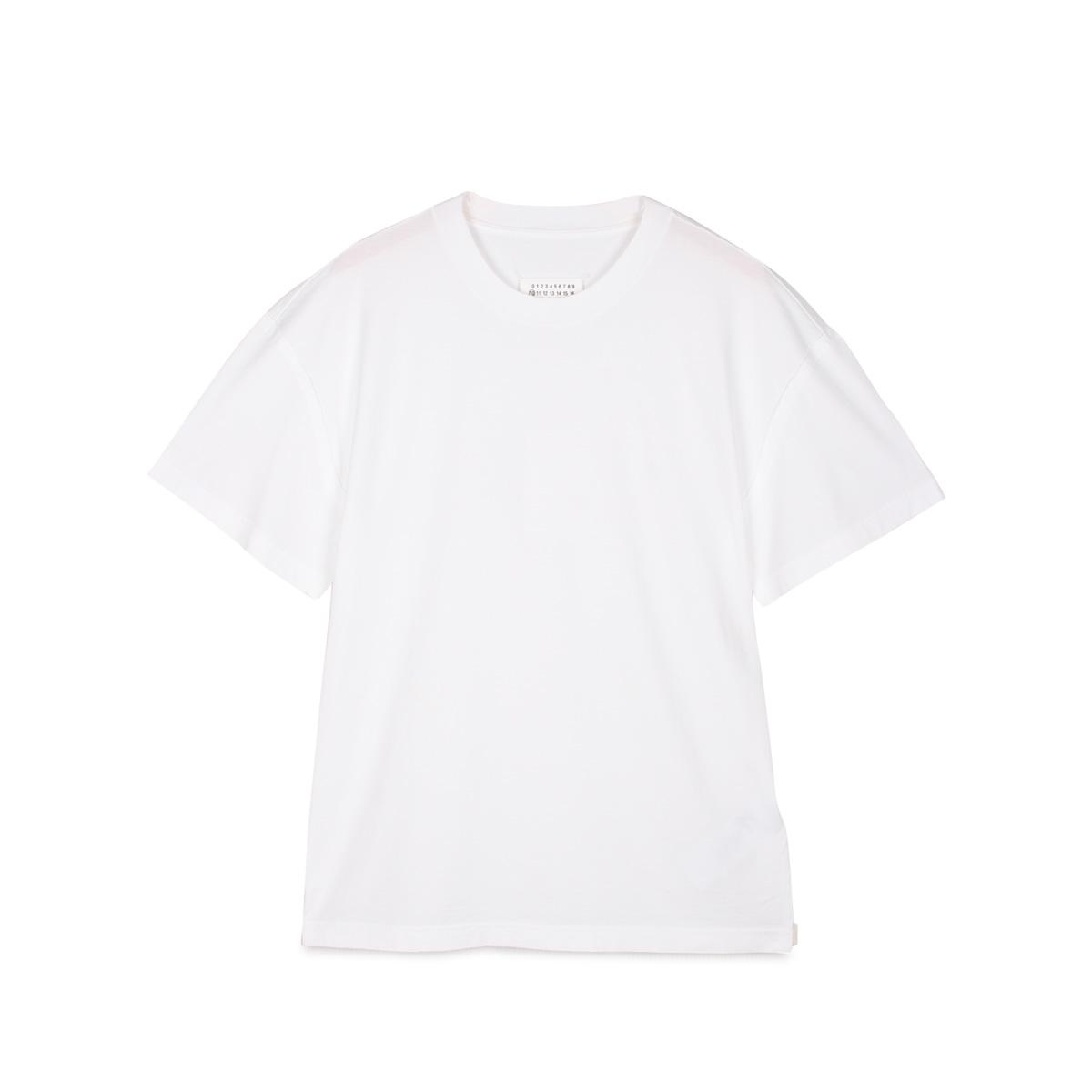 MAISON MARGIELA T SHIRT メゾンマルジェラ Tシャツ 半袖 メンズ ブラック 黒 S50GC0600-100 [3/4 新入荷]