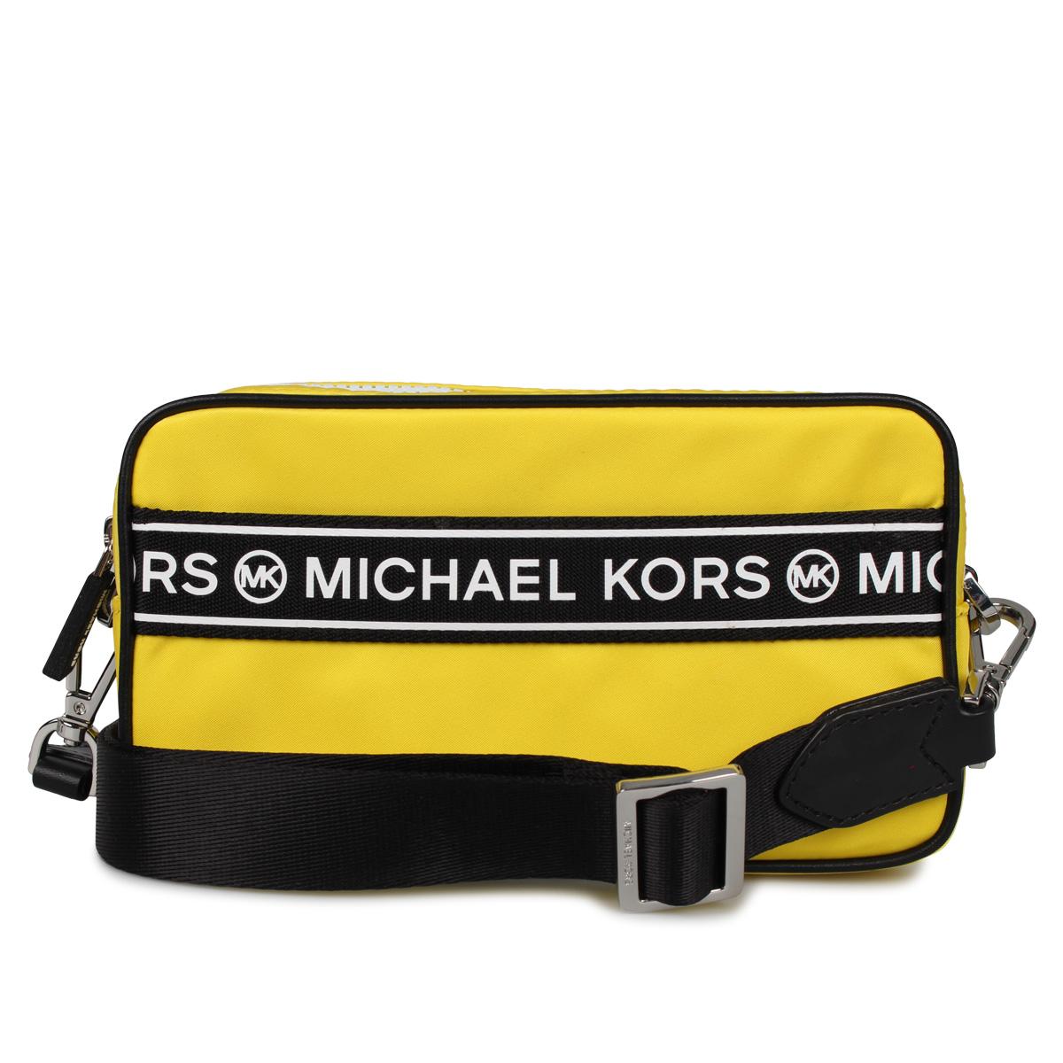 MICHAEL KORS KENLY SM CAMERA XBODY マイケルコース バッグ ショルダーバッグ レディース イエロー 35H9SY9C5C [4/20 新入荷]