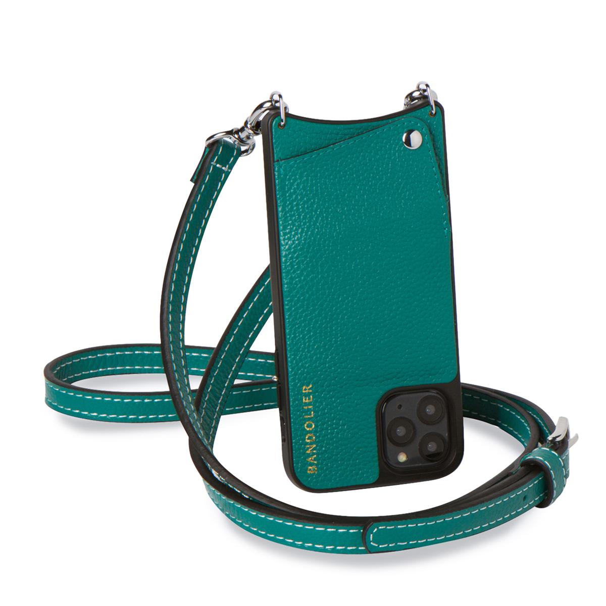 BANDOLIER バンドリヤー iPhone11 Pro MAX ケース スマホ 携帯 ショルダー アイフォン ケイシー メンズ レディース CASEY グリーン 10CAS