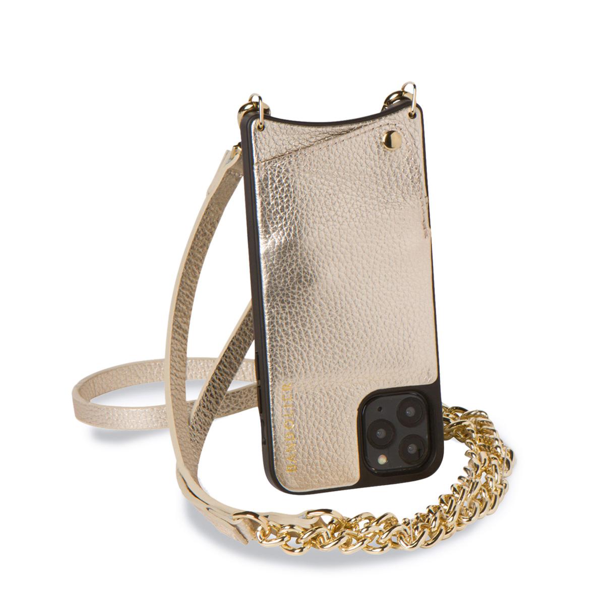 BANDOLIER バンドリヤー iPhone11 Pro ケース スマホ 携帯 ショルダー アイフォン レクシー メンズ レディース LEXI ゴールド 10LEX