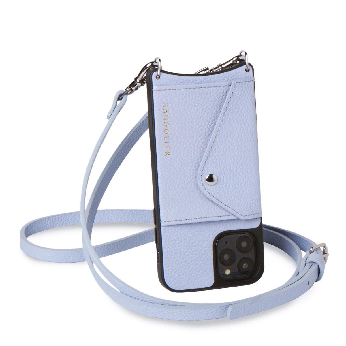 BANDOLIER DONNA バンドリヤー iPhone11 Pro ケース スマホ 携帯 ショルダー アイフォン ドナー メンズ レディース ブルー 14DON [5/26 再入荷]