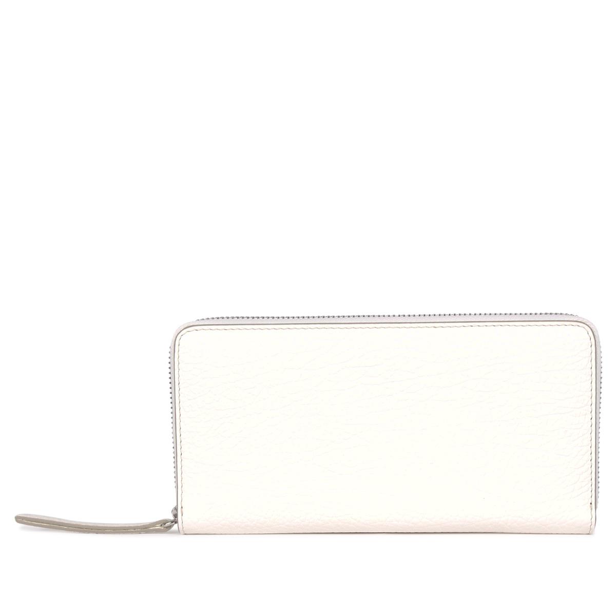 MAISON MARGIELA LONG WALLET メゾンマルジェラ 財布 長財布 メンズ レディース ラウンドファスナー ホワイト 白 S56UI0110