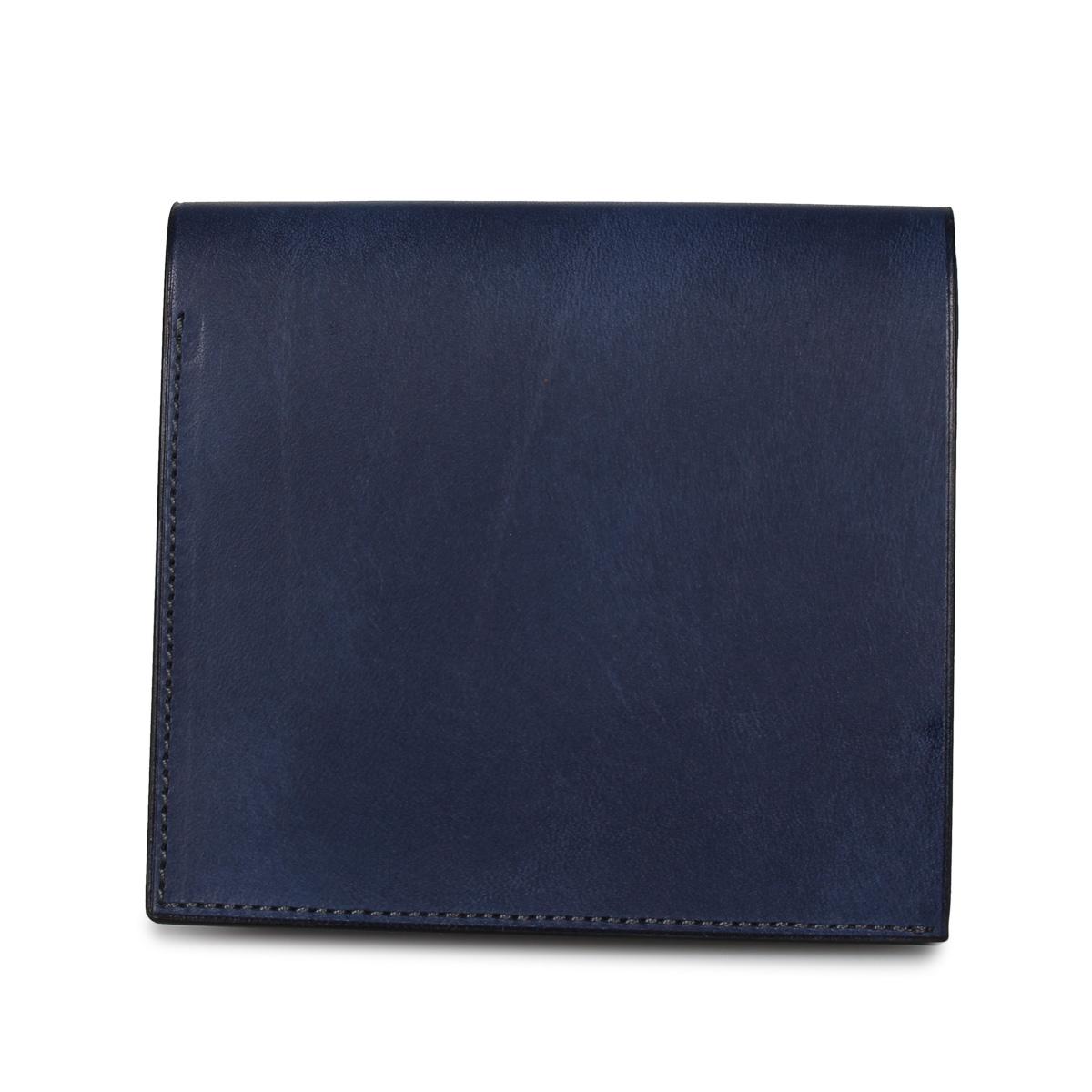 HIROAN PROSSIMO ヒロアン 財布 二つ折り メンズ 博庵 ブラック ネイビー ブラウン 黒 HM-201823