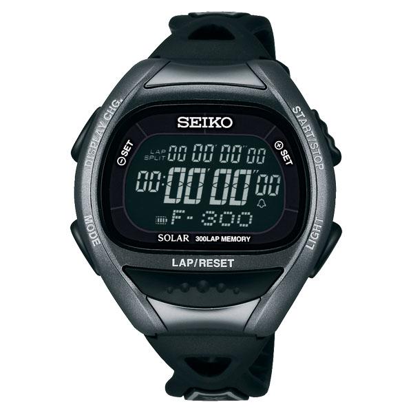 セイコー SEIKO スーパーランナーズ 腕時計 メタリックブラック 【あす楽対象外】【返品不可】