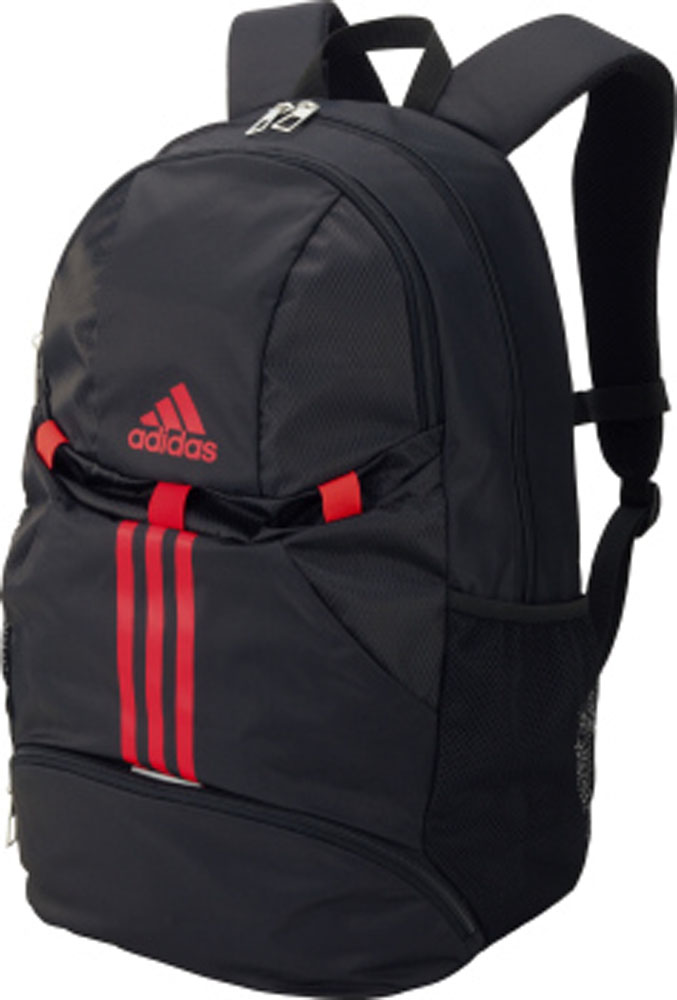 ALLSPORTS  Day pack black X red  the target outside  for the adidas Adidas bag  soccer ball  471385141c57