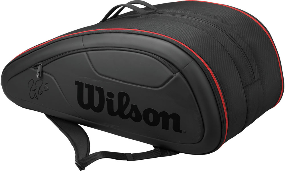 12 Bags For The Wilson Bag Tennis Racket Packable Federer Dna 12pack Black Target Outside