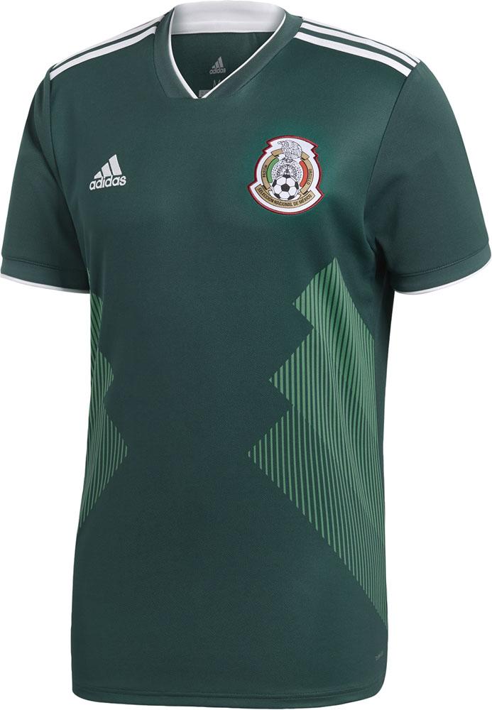 Representative from adidas Adidas game shirt underwear soccer Mexico home  replica uniform short sleeves d0937c8a3