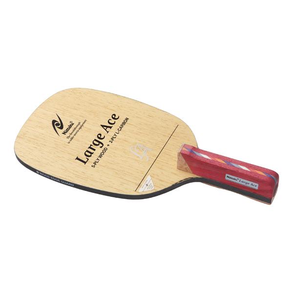 ニッタク Nittaku ラケット 卓球 ラージエース P (角) 【あす楽対象外】【返品不可】